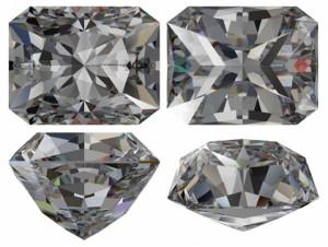 Example of Emerald Cut Diamond