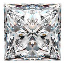 Princess Cut Diamond Example