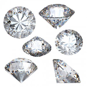 Examples of Round Brilliant Diamonds